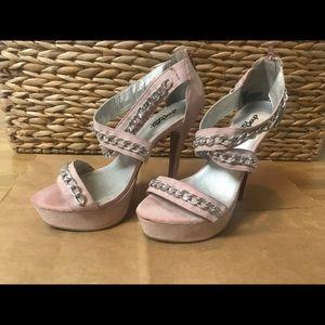 Blush-tone heels